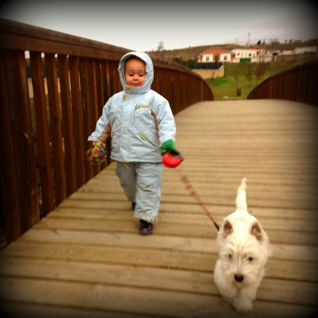 Wanted By Demerino, paseando con nuestra hija de 2 años