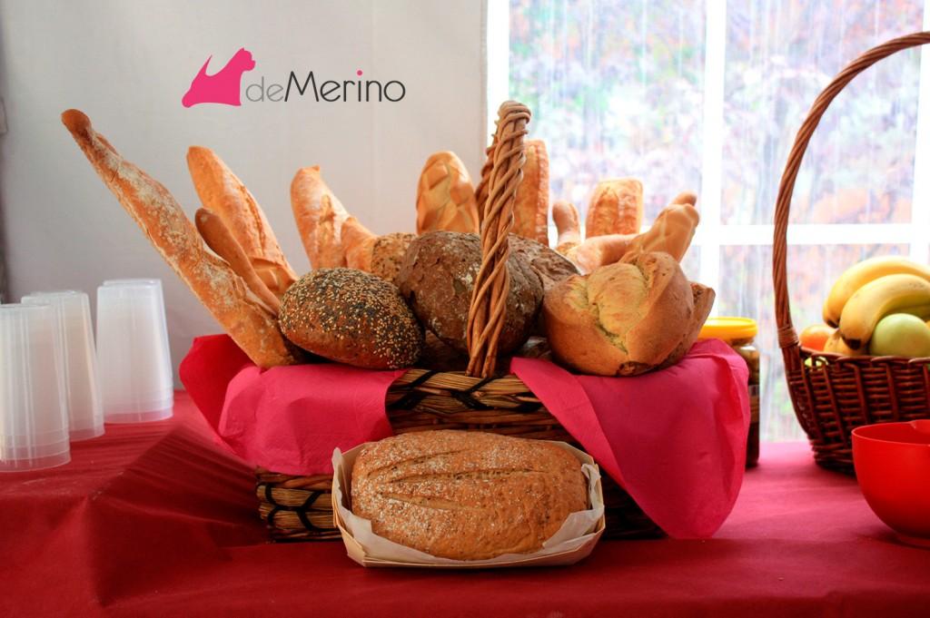 Detalles II Encuentro de westies Demerino and Friends: cesta de pan