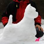 Construyendo un westie de nieve
