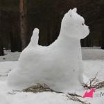Construyendo un westie de nieve: termiado lateral derecho