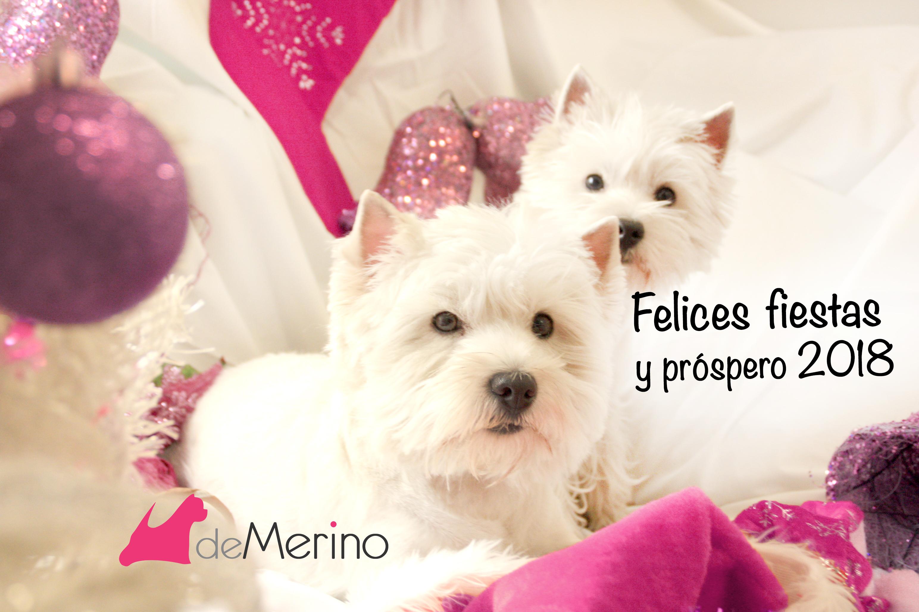 Felices fiestas 2017 y próspero 2018 con Demerino